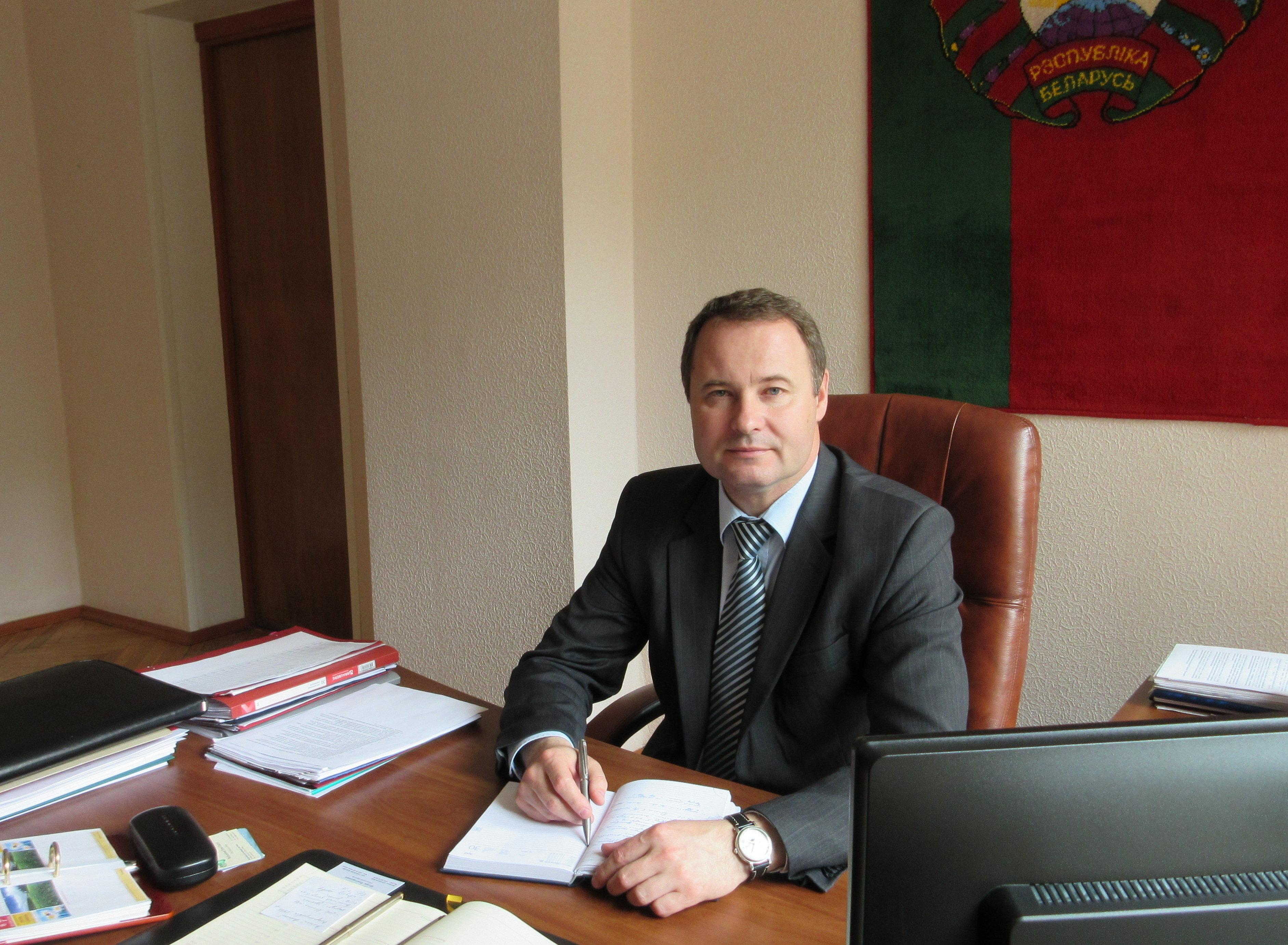 Заместитель председателя Брестского облисполкома Андрей Клец