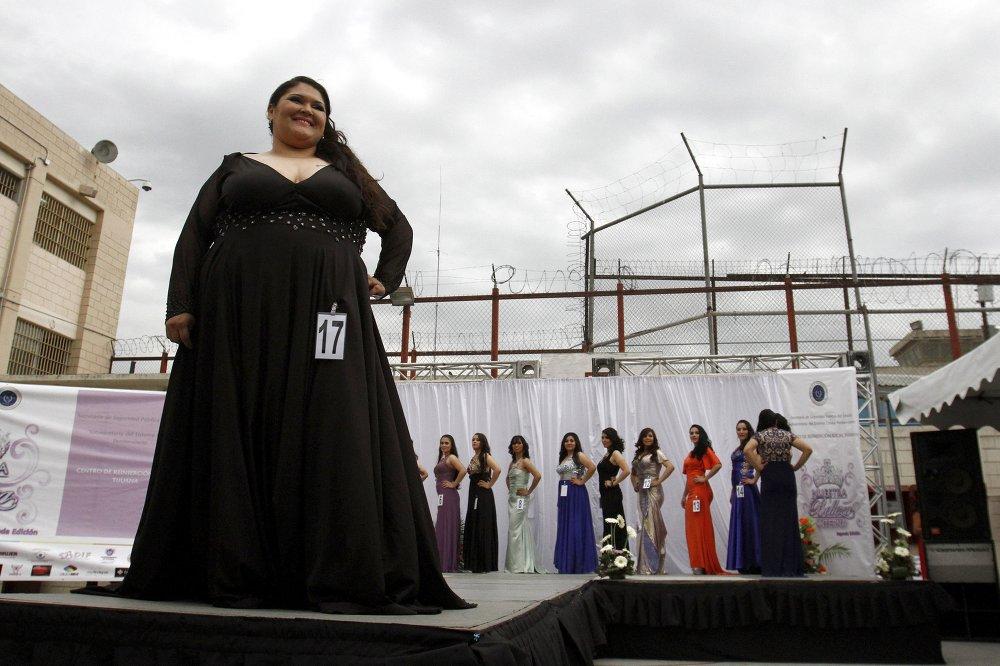 Конкурс прыгажосці для жанчын зняволеных у дзяржаўнай турме мексіканскай Ціхуаны