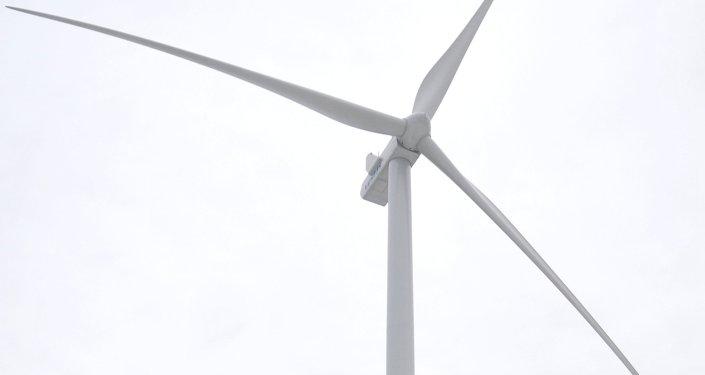 Ветряк ветроэлектростанции