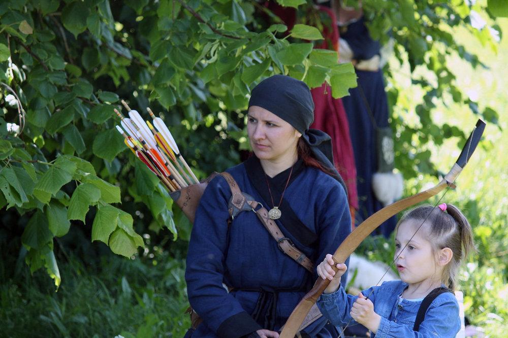 Фестываль Эпоха рыцарства ў Строчыцах