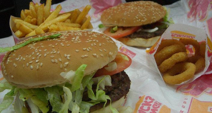 Бургер в Burger King