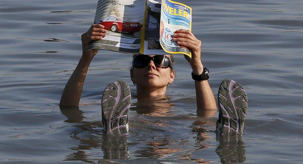 Отдых в целебных водах озера Тус в Хакасии