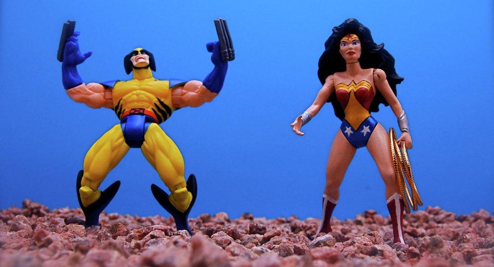 Цацачныя супергероі