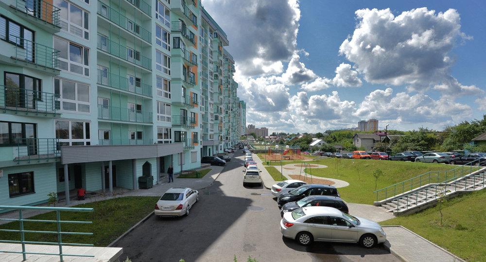 Новабудоўкі ў раёне Сельгаспасёлка