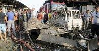 Наступствы выбуху пад Багдадам