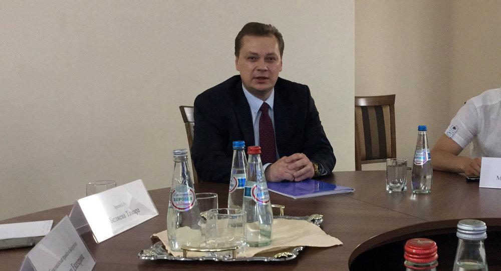 Начальник управления Следственного комитета по Минску Дмитрий Конопляник, архивное фото