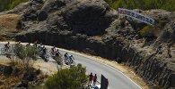Один из этапов велогонки Вуэльта