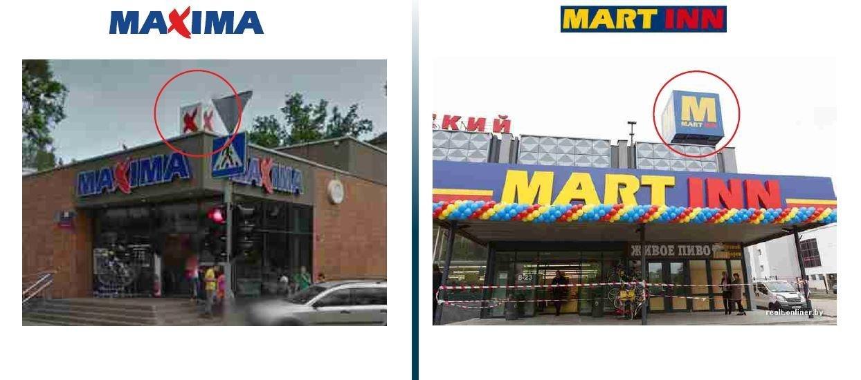Maxima обвиняет Mart Inn в копировании дизайна и бизнес-концепции