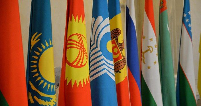 Флаги СНГ