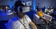 На презентации шлема Gear VR