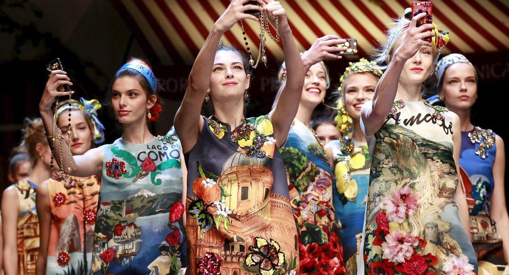 Представление коллекции Dolce & Gabbana