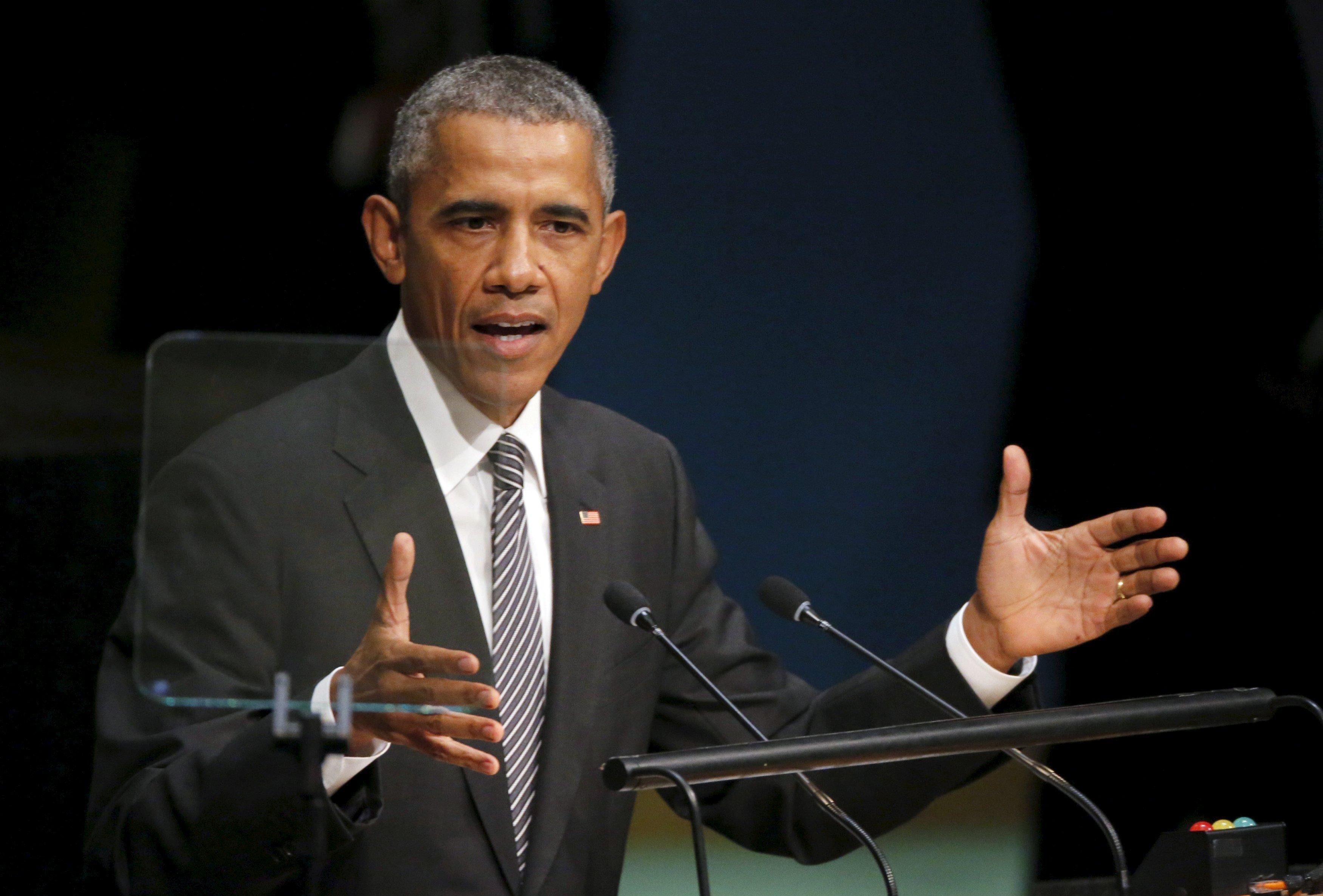 Барак Обама выступает на Генассамблее ООН