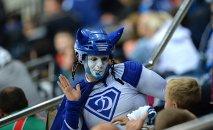 Болельщик Динамо-Минск на хоккейной матче