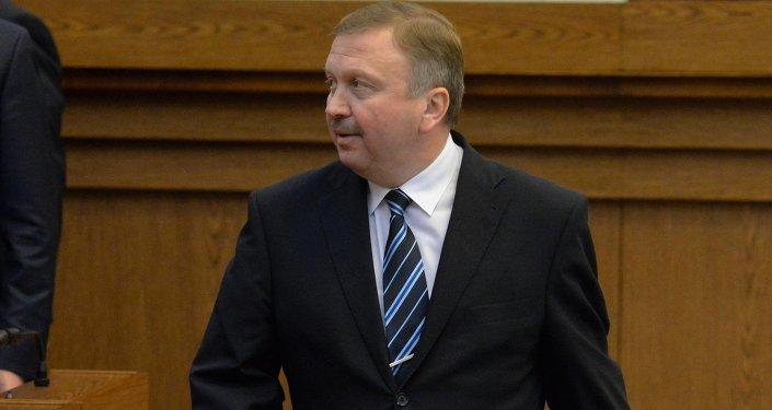 Премьер-министр Беларуси Андрей Кобяков