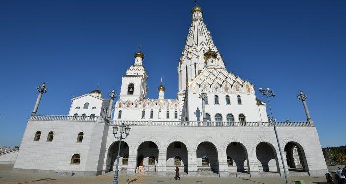 Храм-памятник в честь Всех святых и в память безвинно убиенных в Отечестве нашем