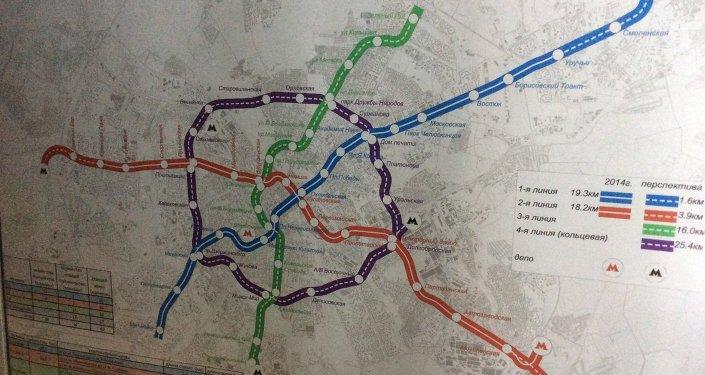 Схема метро 2020 минск