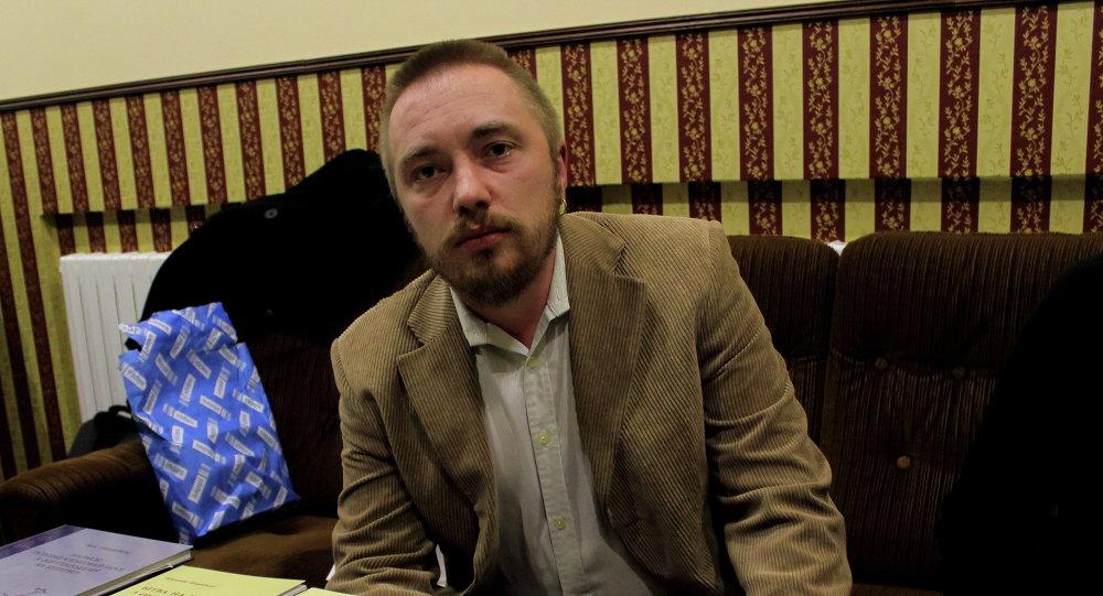 Мікалай Плавінскі, аўтар кнігі Бітва на Нямізе