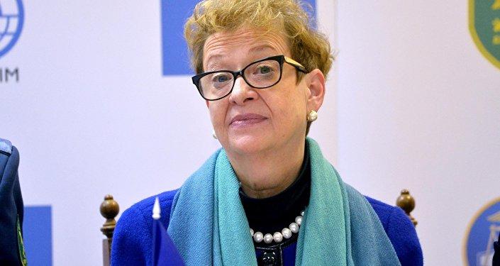 Глава Представительства Европейского союза в Республике Беларусь Андреа Викторин