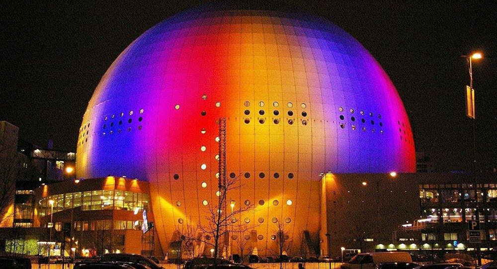 Сцэна Ericsson Globe, дзе пройдзе Еўрабачанне-2016