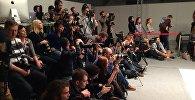 Журналисты и блогеры на Белорусской неделе моды