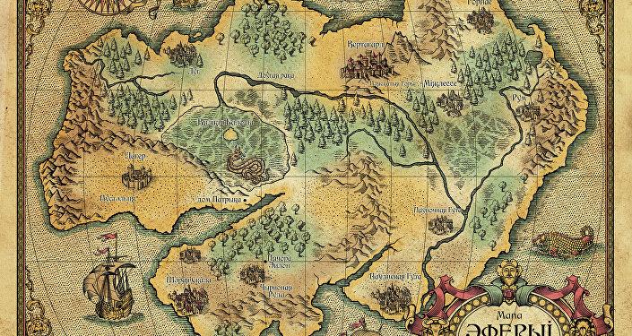 Карта Эферыі