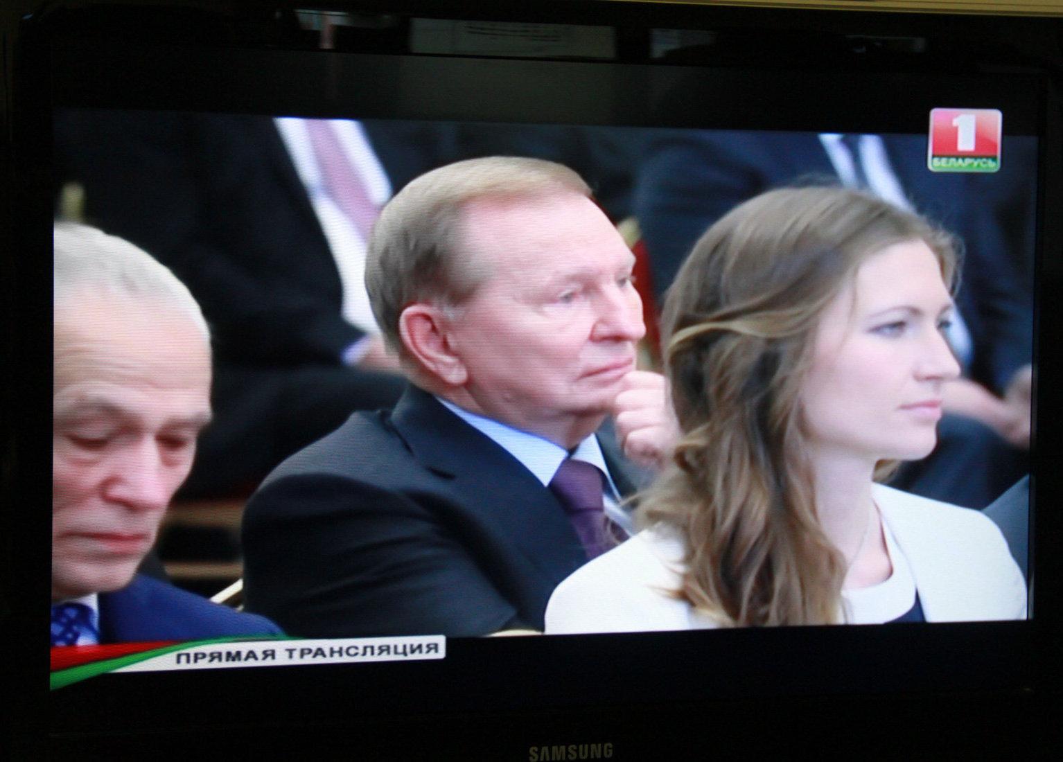 Лукашенко иКучма обсудили работу контактной группы поурегулированию конфликта вДонбассе