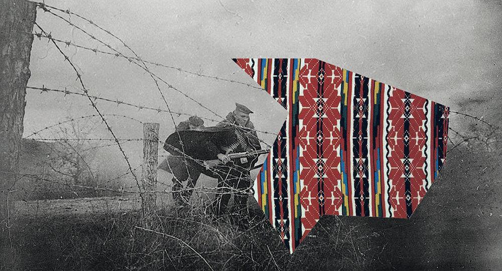 Работа мастака Андрэя Ленкевіча, архіўнае фота