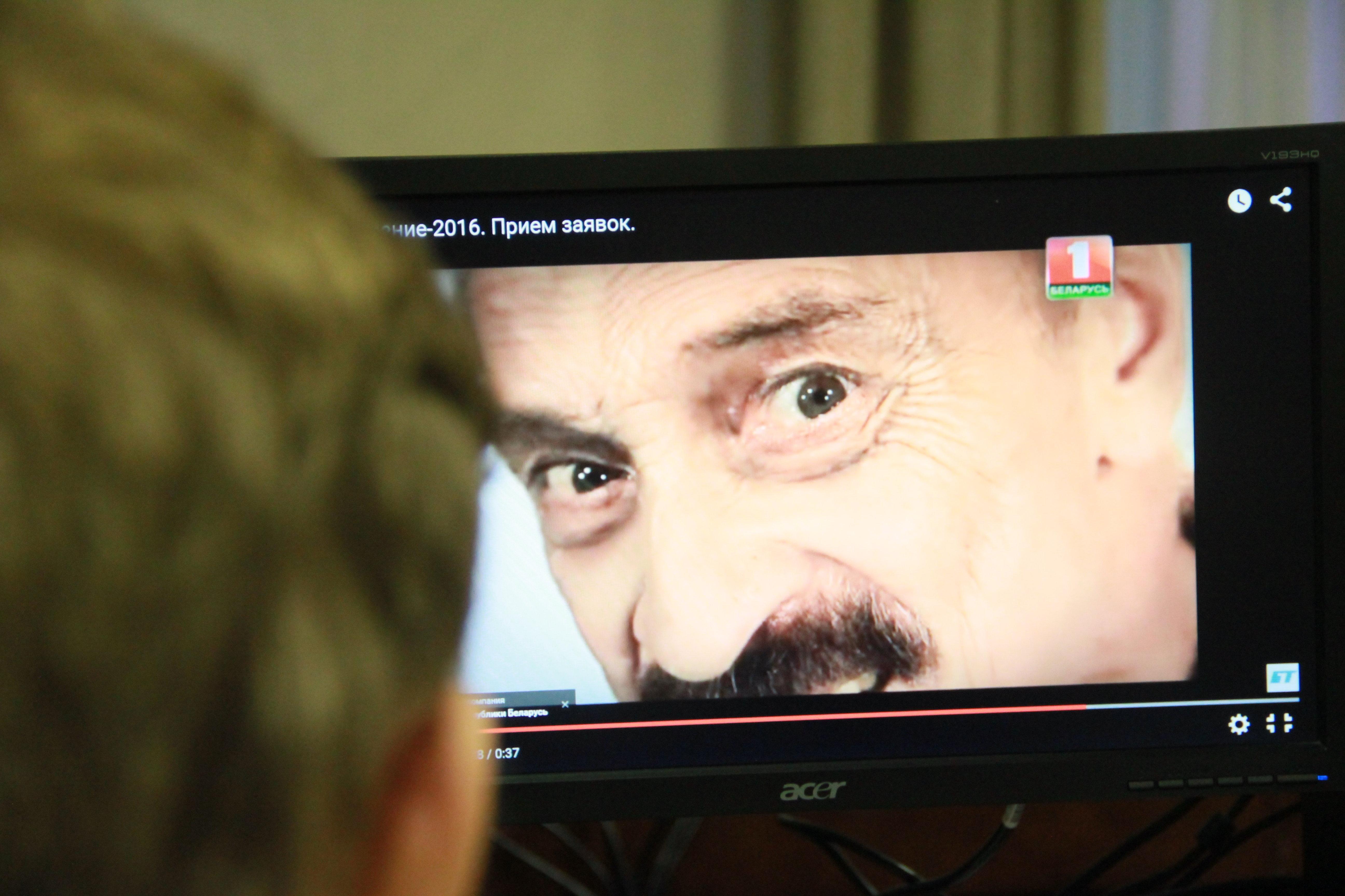 Рекламный видеоролик Евровидения с участием Александра Тихановича
