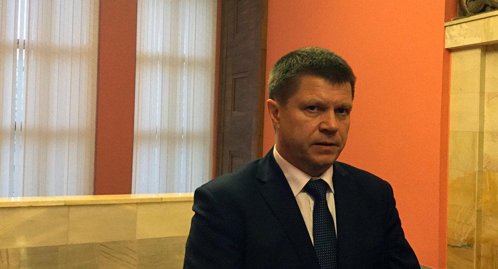 Председатель государственного таможенного комитета Беларуси Юрий Сенько