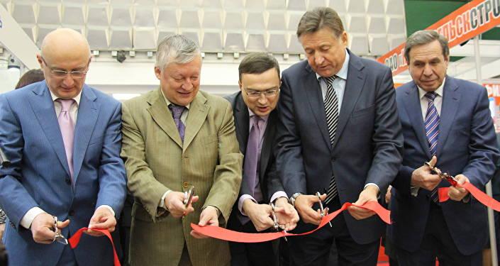 Открытие выставки EXPO-RUSSIA BELARUS 2015