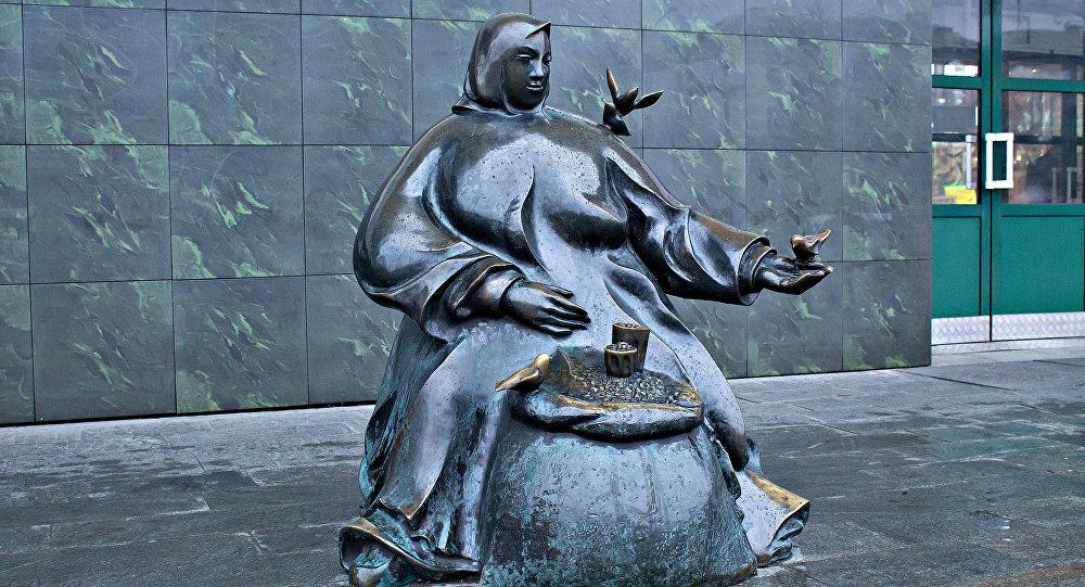 Мінскія скульптуры
