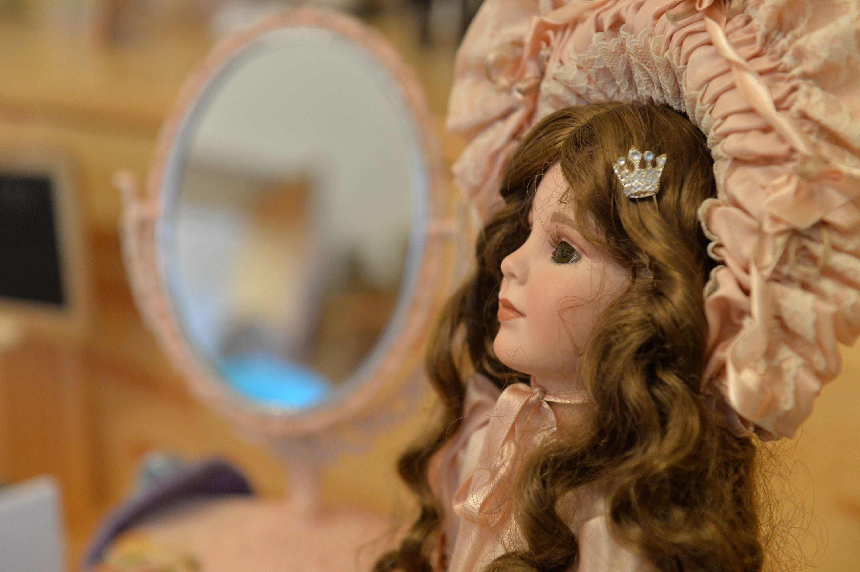 Рэпліка класічнай лялькі віктарыянскай эпохі