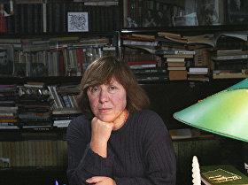 Белорусская писательница С.Алексиевич, декабрь 1996 года