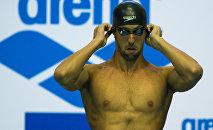 Американский пловец Майкл Фелпс