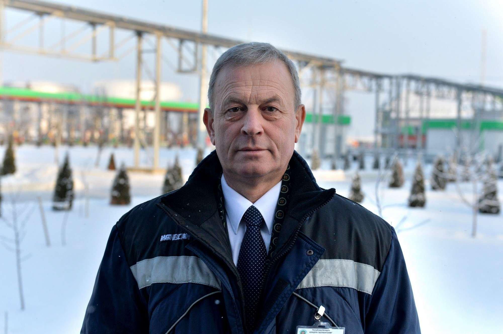 Директор Минскоблнефтепродукта Анатолий Короткий