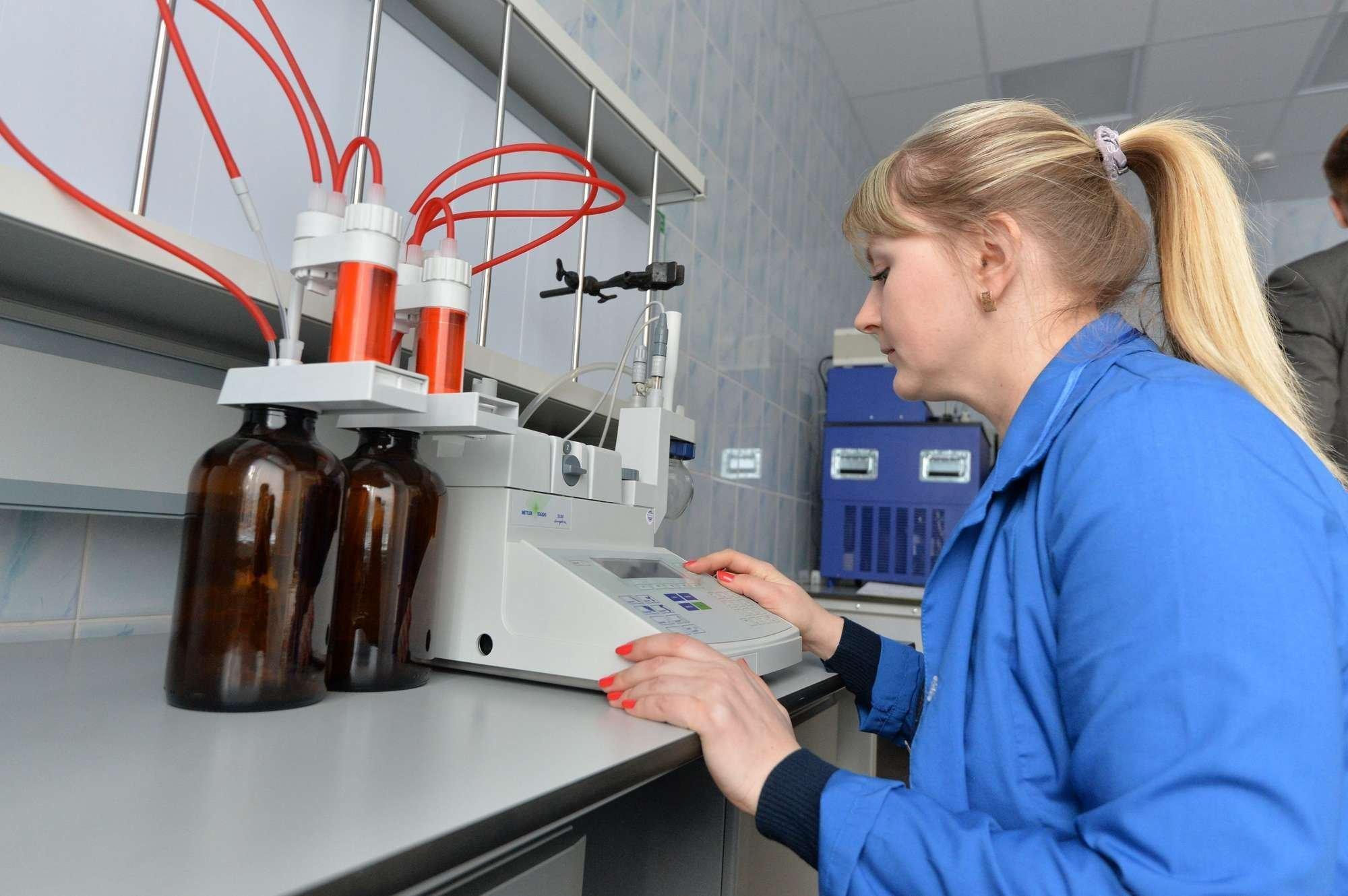 Проведение лабораторных исследований топлива