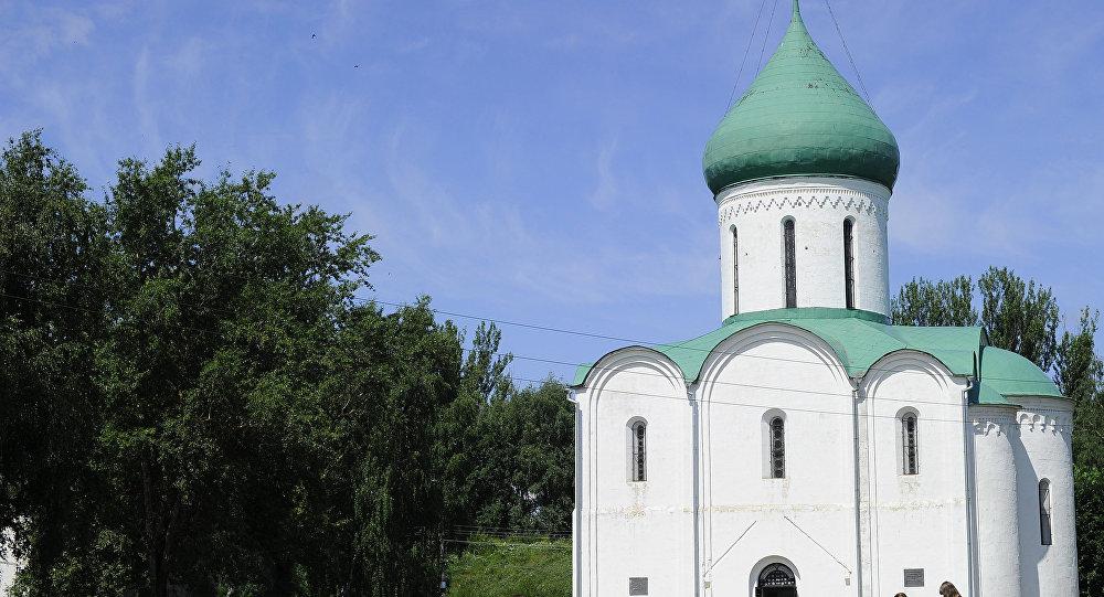 Спаса-Праабражэнскі сабор у Пераслаўлі-Залескім. Архіўнае фота