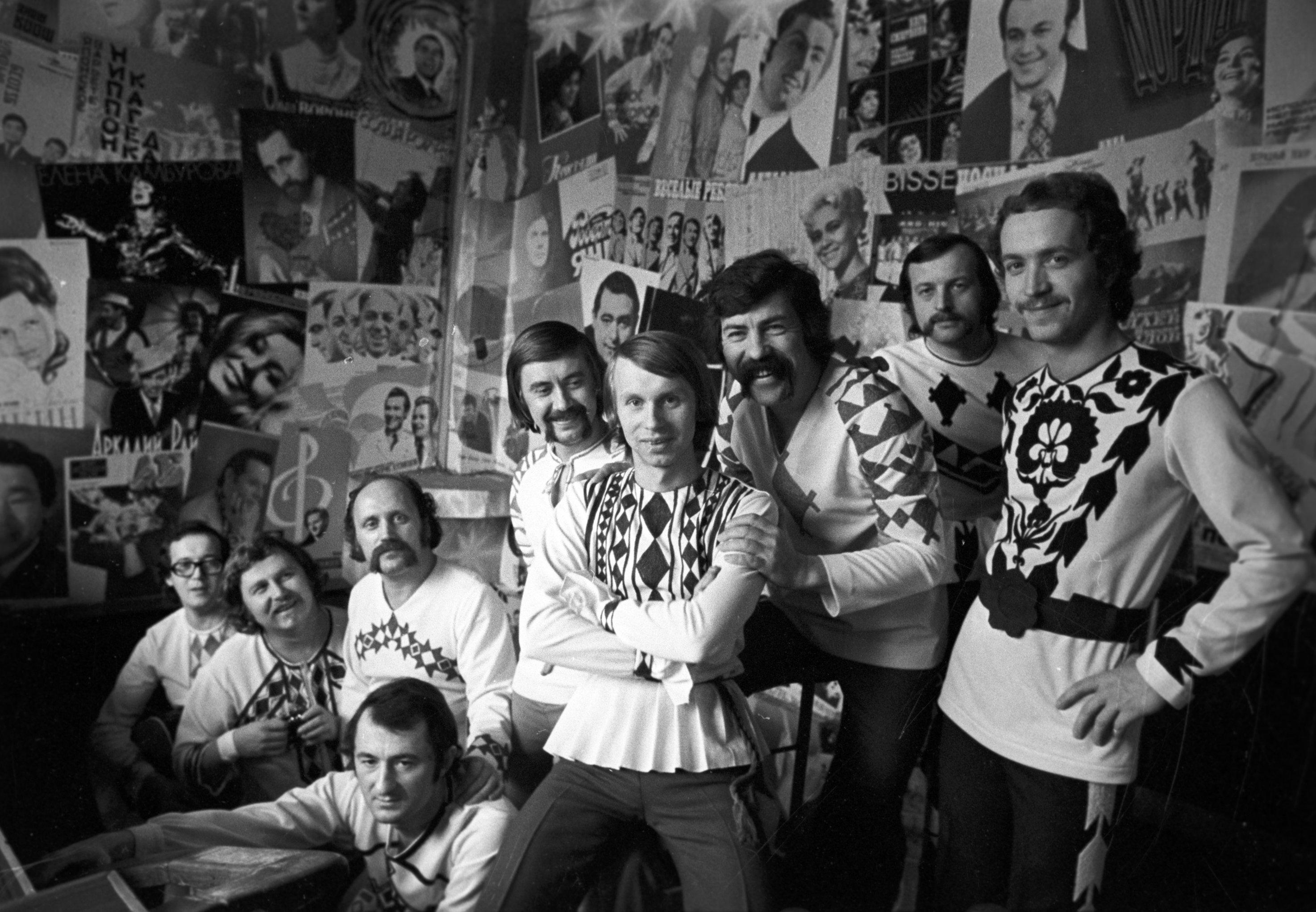 Участники белорусского ансамбля Песняры