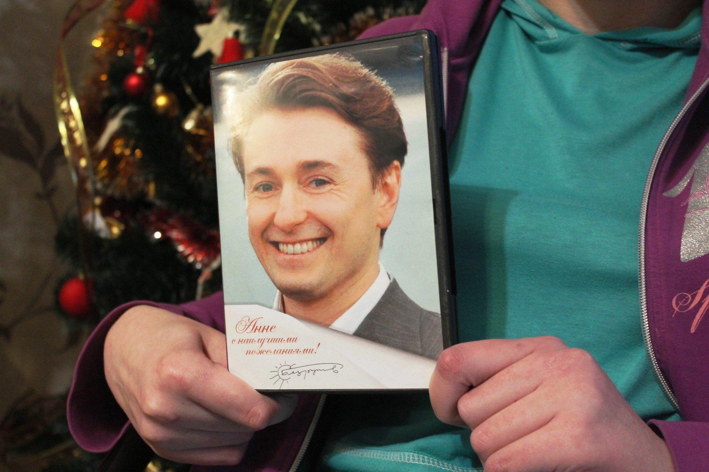 Новогодний подарок российского актера поклоннице из Бреста