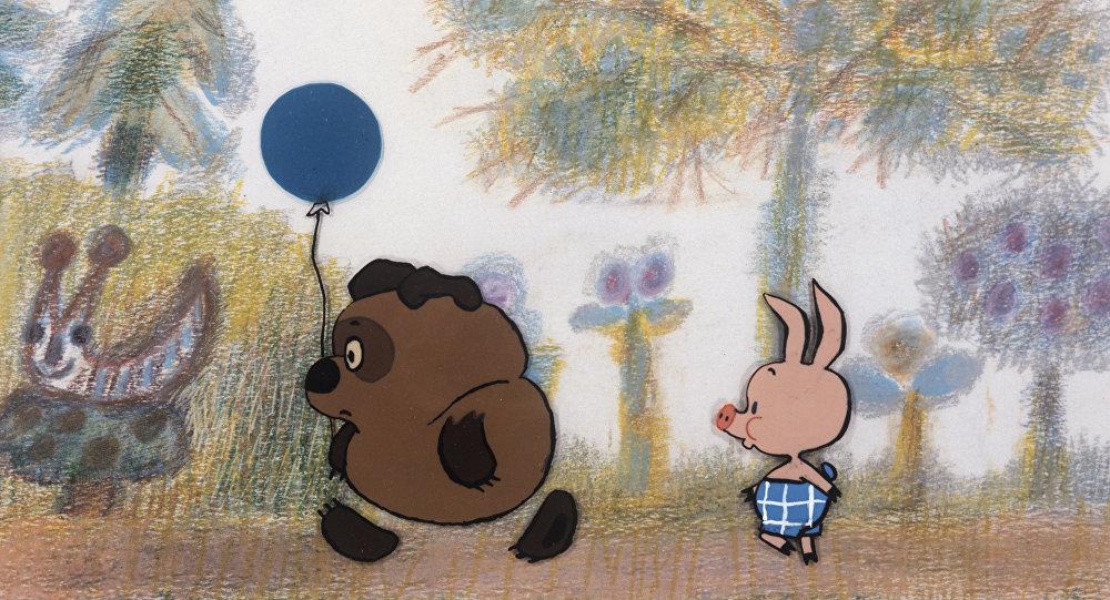 Кадр з мультфільма Віні-пух