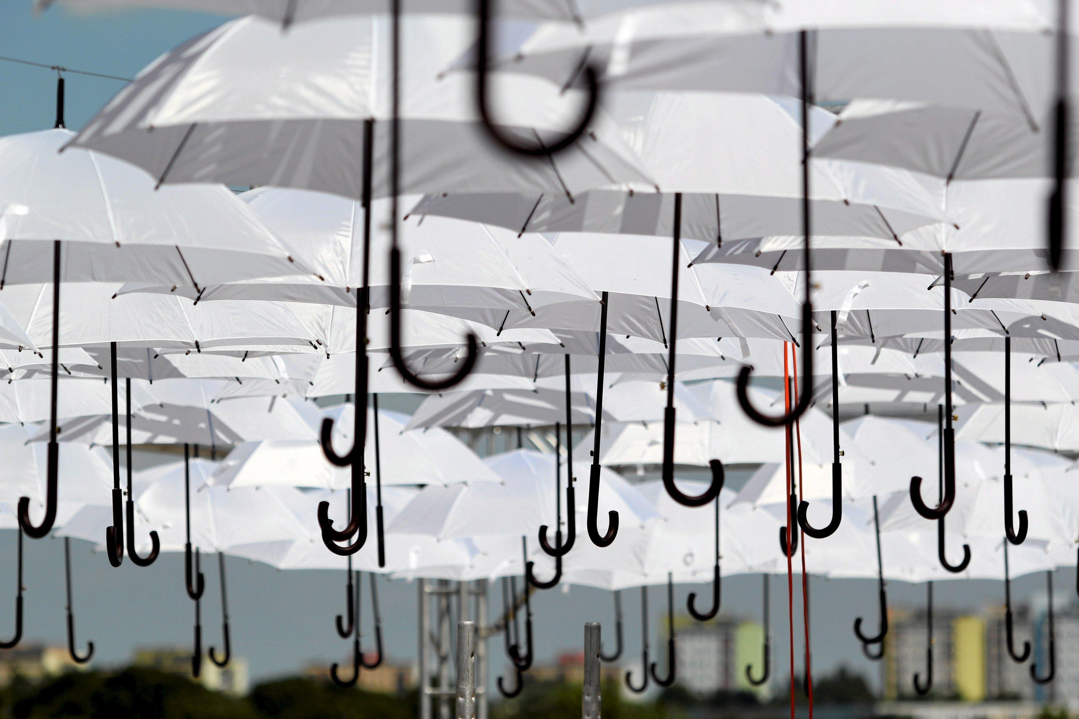 Карнавал зонтиков в Люблине