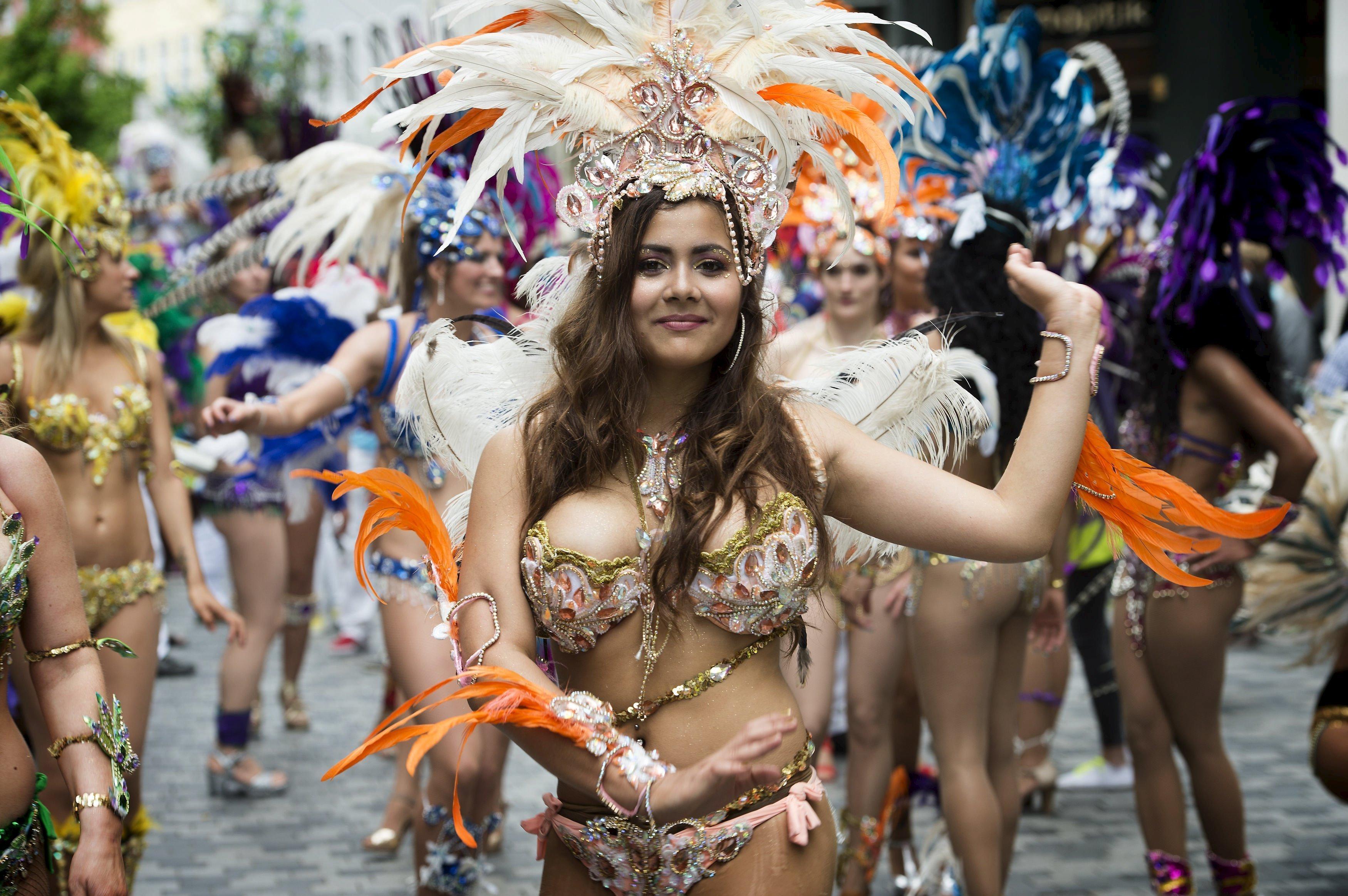 Ежегодный карнавал в Копенгагене