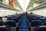 Салон самолета A321. Архивное фото
