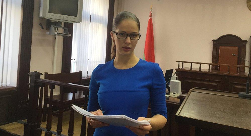 Илона Геращенко в суде