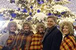 Мэр Риги Нил Ушаков на открытии фестиваля Путешествие в Рождество