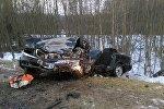 Последствия ДТП в Минском районе