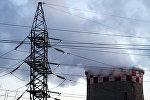 Теплоэлектростанция, архивное фото