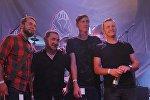 Беларускі гурт :B:N: на Лідскім байк-фестывалі