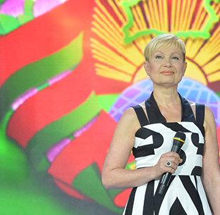 Елена Спиридович на фестивале Славянский базар