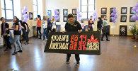 Любовь не должна ранить: танцевальный флешмоб прошел в Минске